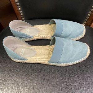 Eileen Fisher Shoes - Eileen Fisher Lady Nubuck d'Orsay Espadrilles